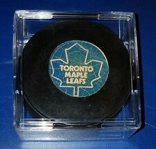 Toronto Maple Leafs NHL approved Canada Viceroy vintage Hockey Puck