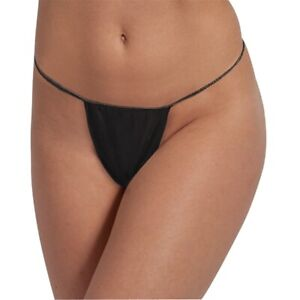 Black Disposable Thongs Pants Knickers x 10 Spray Tanning Black SAMEDAY DISPATCH