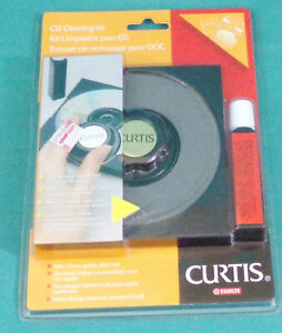 CD Cleaning Kit Curtis ESSELTE Brand-New Sealed