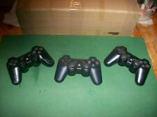 SONY PLAYSTATION 3 CONTROLLERS.QUANTITY OF 3.