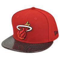 NBA New Era HWC 59Fifty 5950 Miami Heat Team Performance Fitted Hat Cap