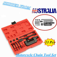 Motorcycle Chain Splitter Cutter Breaker Link Rivet Riveter Tool Set AU Stock