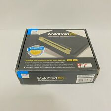 PenPower WorldCard Pro WCU02A Business Card Reader with Activation Code Open Box