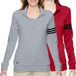 Adidas Golf Women's 3-Stripe Full-Zip Golf Jacket,  Brand New