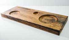 Havana Club, Echt Holzpodest, Holz Tablett, Showtable für Glas, Flasche Essence