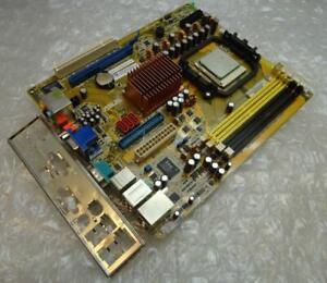 Genuine ASUS M3N18L/T-M3N8200/DP_MB Socket AM2 Motherboard with CPU and BP