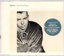 Pet Shop Boys Before CD1 UK CD Single