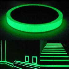 2,5cm x 10m Phosphorband Leuchtendes Klebeband Fluoreszierend Nachtleuchtend