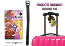 Etiquette bagage / luggage tag - disney raiponce tangled rapunzel 01-002