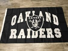 Oakland Raiders 3X5 Oakland Nation Flag Same Day Ship From California Las Vegas