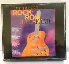THE CONCERT FOR THE ROCK AND ROLL HALL OF FAME - 2 CDs - 28 TRACKS - LIKE NEW!!
