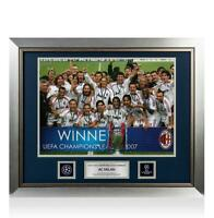 UNSIGNED AC Milan Official UEFA Champions League Framed Photo: 2007 Winners