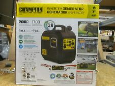 New - Champion 2000W Lightweight Inverter Generator