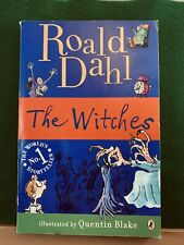 The Witches by Roald Dahl Children's Paperback Book