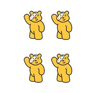 CHILDREN IN NEED PUDSEY BEAR - IRON ON TSHIRT TRANSFER - A6
