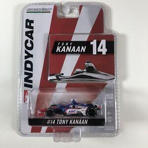 1:64 2018 Greenlight Tony Kanaan #14 AJ Foyt Racing IndyCar
