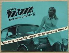 MORRIS MINI COOPER & COOPER S Mk II Car Sales Brochure Sept 1967 #2461