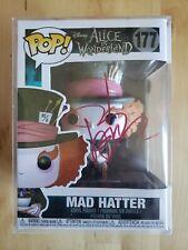 Johnny Depp Signed/Autographed Funko Pop w/COA Mad Hatter #177