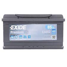 Batterie Exide EA852 Fulmen FA852 12v 72ah 760A 278x175x190mm varta F17 F18