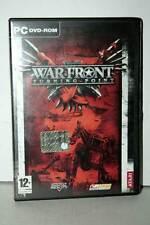 WAR FRONT TURNING POINT GIOCO USATO BUONO STATO PC DVD VER ITA VBC 37879