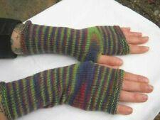 Handstulpen fingerlose Handschuhe mit Daumen handgestrickt