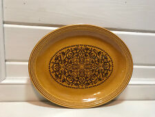 "Vintage Sheffield Sierra Ironstone Dinnerware Oval 14"" Serving Platter"