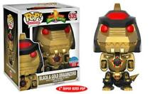 "2017 NYCC Funko Pop! TV: Power Rangers 6"" Black Dragonzord w/ Toy Tokyo Sticker"