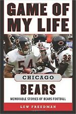 nfl book CHICAGO BEARS  - GAME OF MY LIFE   AMERICAN football  - quick uk post
