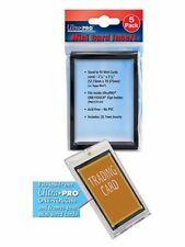 5-Pack Ultra Pro (Topps) Mini Card Insert fit inside One-Touch Holder No PVC