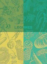 GARNIER THIEBAUT, LEGUMES VERT (GREEN VEGETABLES) FRENCH KITCHEN / TEA TOWEL
