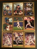 1999 Topps BOSTON RED SOX Complete Team Set Series 1 & 2 w DP's, RC's 18 Cards