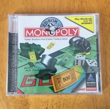 New Monopoly Cd-Rom Hasbro Interactive Windows Westwood Studios Rare Game Pc