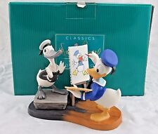 """WDCC """"Donald Then and Now"""" Donald Duck in Box"""