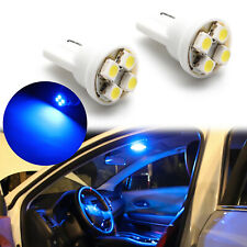 T10 168 192 161 175 W5W Super Blue High Power LED 2x Bulbs #Pt27 For Dome Light