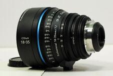 Cinematics Cine lens sigma 18-35 pl mount for sony fs7 f5 red scarlet epic ursa