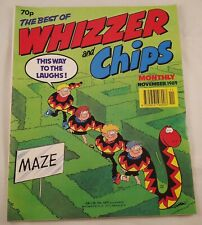 Whizzer and Chips Monthly : November 1989 : Vintage UK Comic