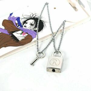 Anime Oosaki NANA Honjo Ren Lock Ai Yazawa Cosplay Key Lovers Pendant Necklace