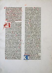 TURRECREMATA FRÜHE SELTENE INKUNABEL MEDITATIONES BASEL JOHANNES SCHILLING 1473