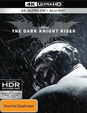 The Dark Knight Rises (Blu-ray, 2017, 3-Disc Set)
