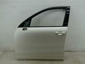 2011-2018 PORSCHE CAYENNE LEFT FRONT DOOR SHELL WRAPPED WHITE OEM 2012 2013 2014