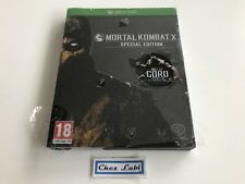 Mortal Kombat X - Special Edition - Microsoft Xbox One - PAL FR - Neuf Blister