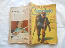 STREET & SMITH'S COMPLETE STORIES-AUGUST 1,1931-FOR VALOR-FOREIGN LEGION PULP