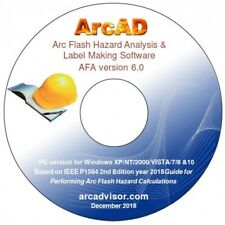 Arc Flash Hazard Analysis and Labeling Software