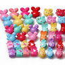 Baby Girls Colorful Plastic Lovely Mini Hair Claw Clips Clamp For Kids 10Pcs