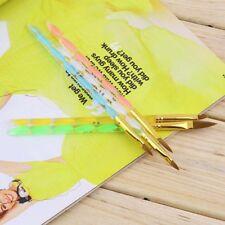 5Pcs Acrylic Design 3D Painting Drawing UV Gel DIY Brush Pen Tool Nail Art New