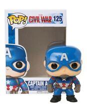 Funko Captain America Pop Vinyl Bobble Figure