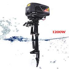 New listing 1200W 48V 5Hp Electric Outboard Trolling Motor Fishing Boat Engine Short Shaft
