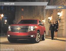 2015 15 Chevrolet Tahoe original sales  brochure MINT