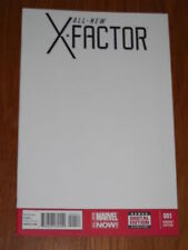 X-FACTOR ALL NEW #1 NM (9.4) MARVEL NOW BLANK VARIANT EDITION MARCH 2014