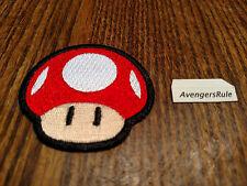 Super Mario Patches Bioworld Nintendo Mushroom Red